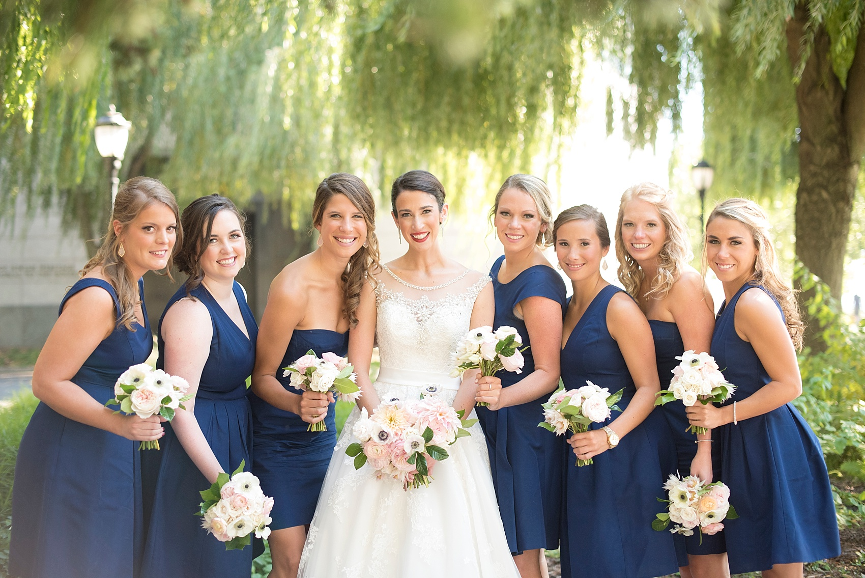 Bridal Party Photo By Mikkel Paige Photography NYC Wedding Photographer Bridesmaids In J Crew