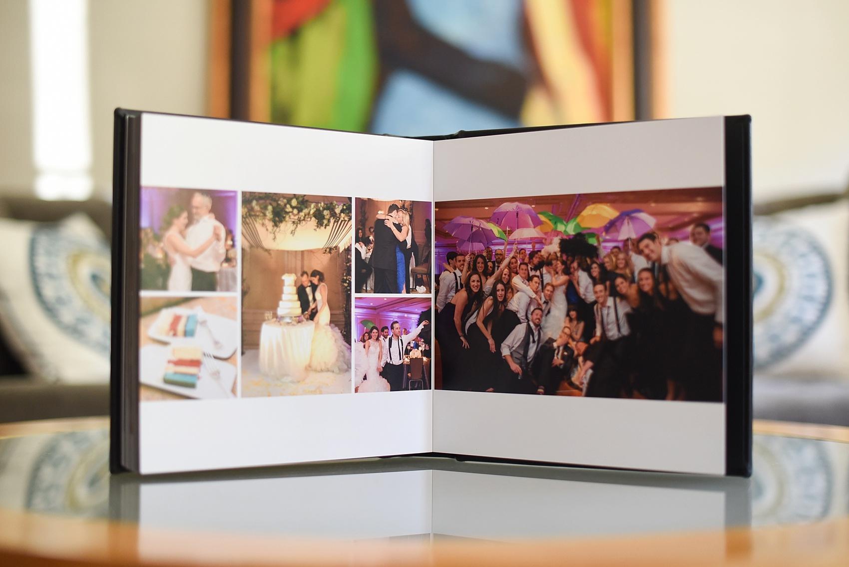 black calf fine art leather wedding photo album  u2022 vered