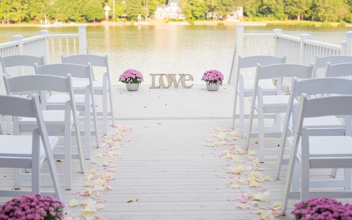 Raleigh Lake Wedding Photos • Lidy + Martin