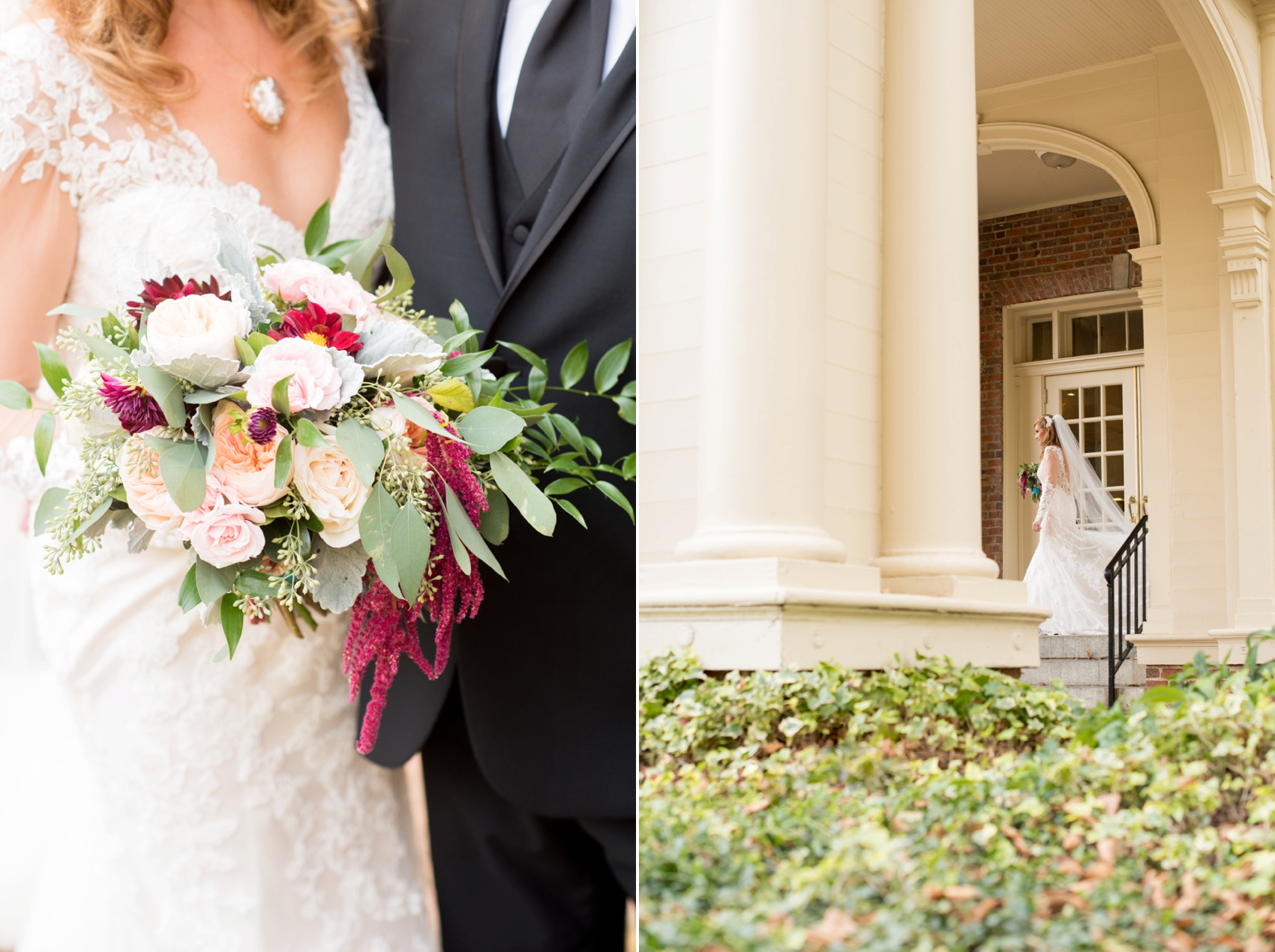 The Carolina Inn wedding photos by Mikkel Paige Photography, Raleigh wedding photographer. Flowers by Tre Bella.