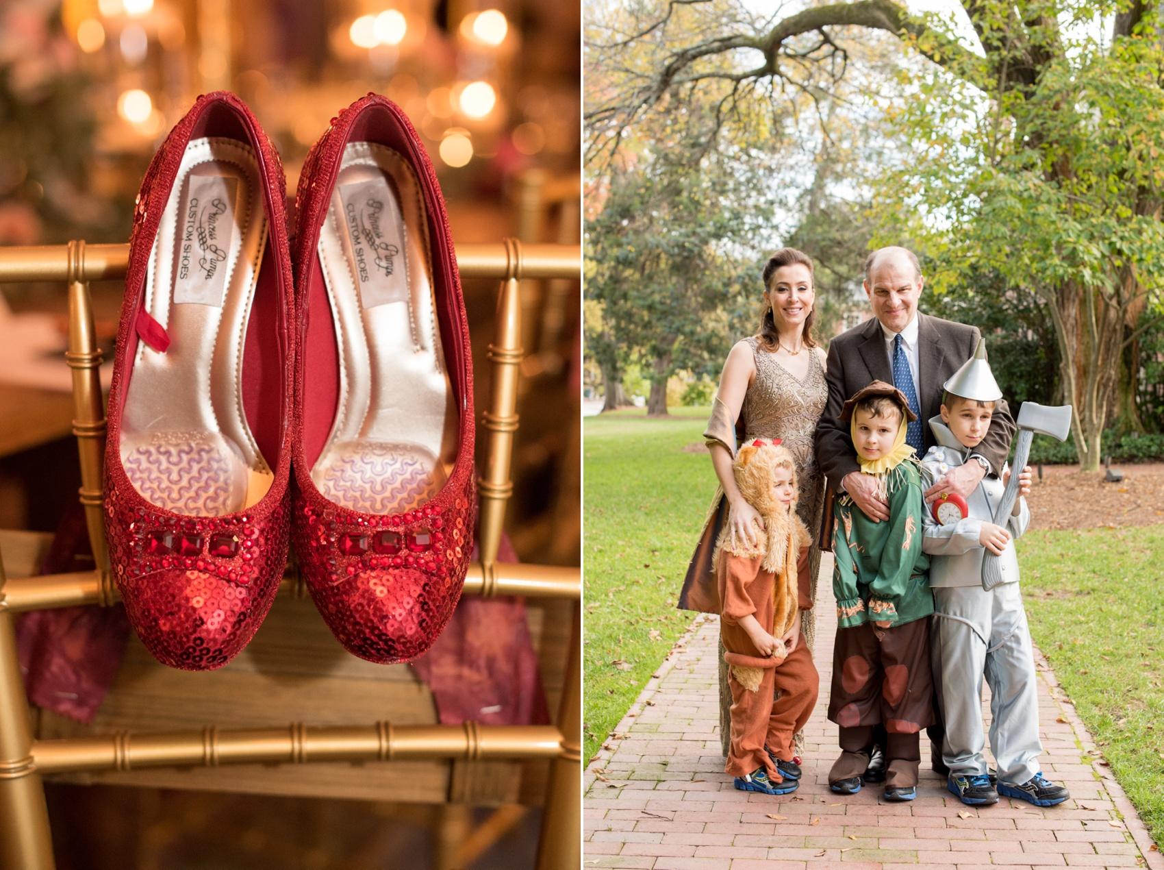 The Carolina Inn wedding photos by Mikkel Paige Photography, Raleigh wedding photographer. Planning by A Swanky Affair for Halloween day!