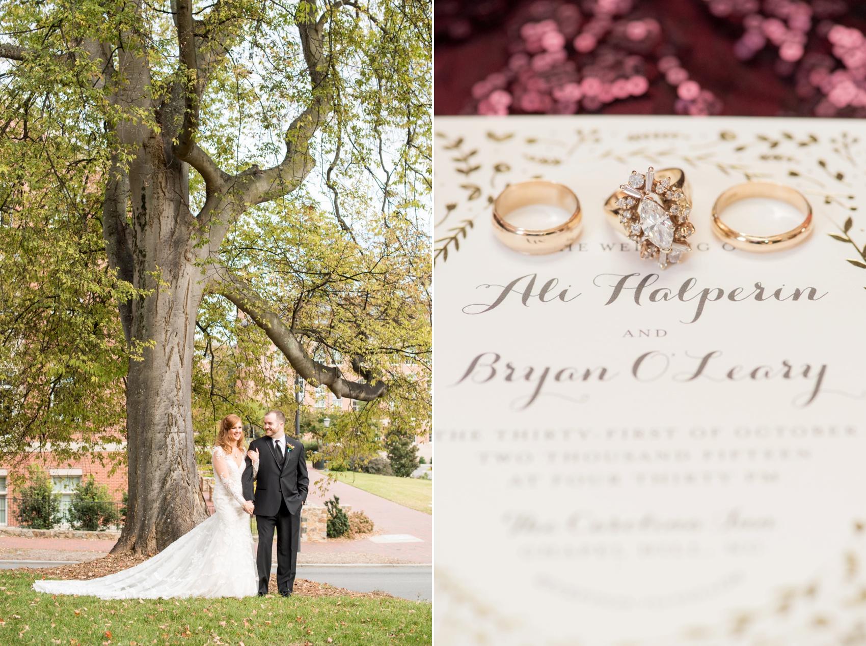 The Carolina Inn Wedding Photos • Ali + Bryan | Raleigh and NYC ...