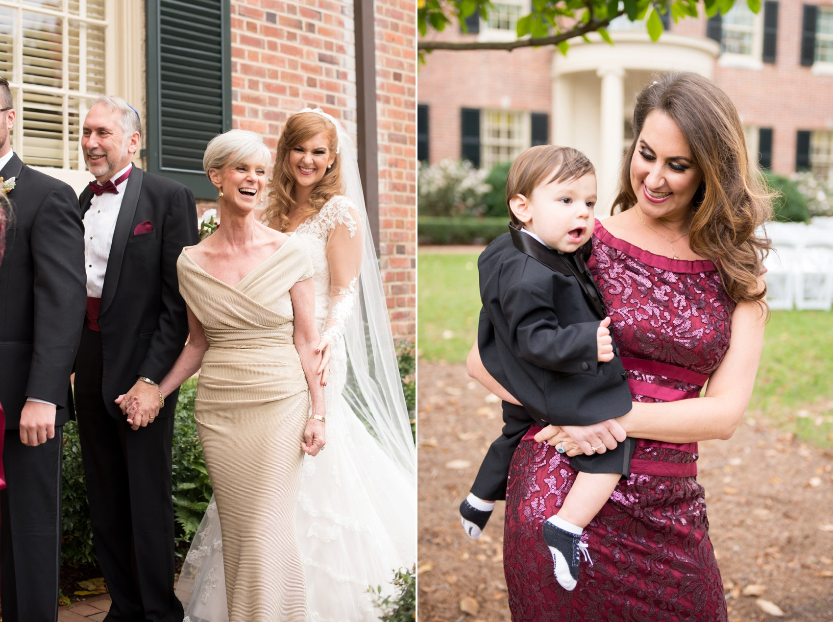 The Carolina Inn wedding photos by Mikkel Paige Photography, Raleigh wedding photographer. Planning by A Swanky Affair and flowers by Tre Bella for a fall pumpkin Halloween inspired outdoor ceremony.