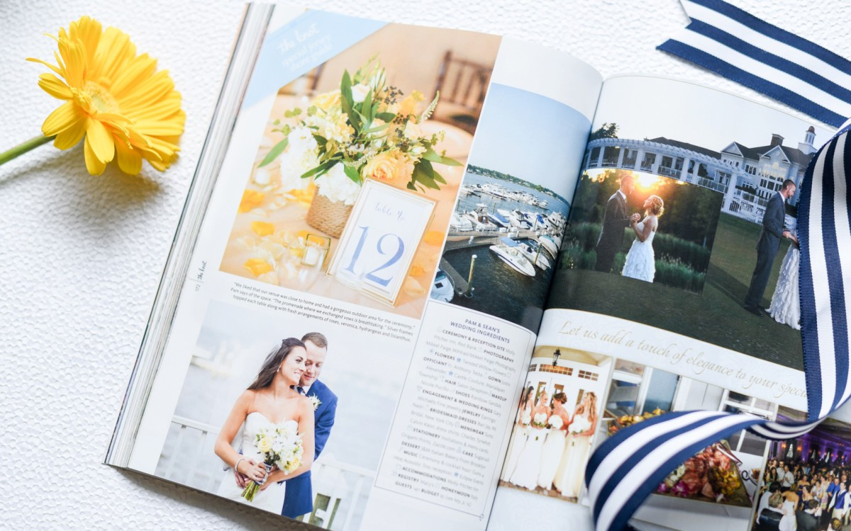 Featured: The Knot New Jersey • Molly Pitcher Inn • Pam + Sean