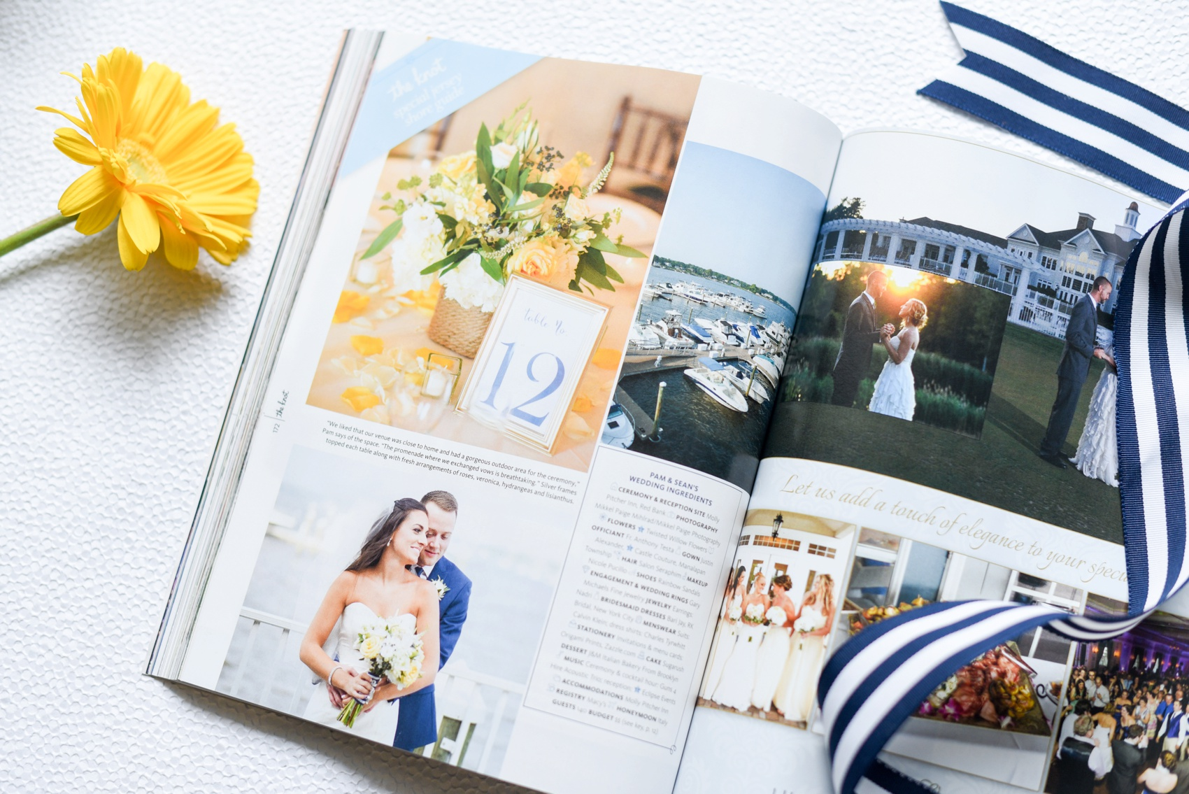 Featured: The Knot New Jersey • Molly Pitcher Inn • Pam +