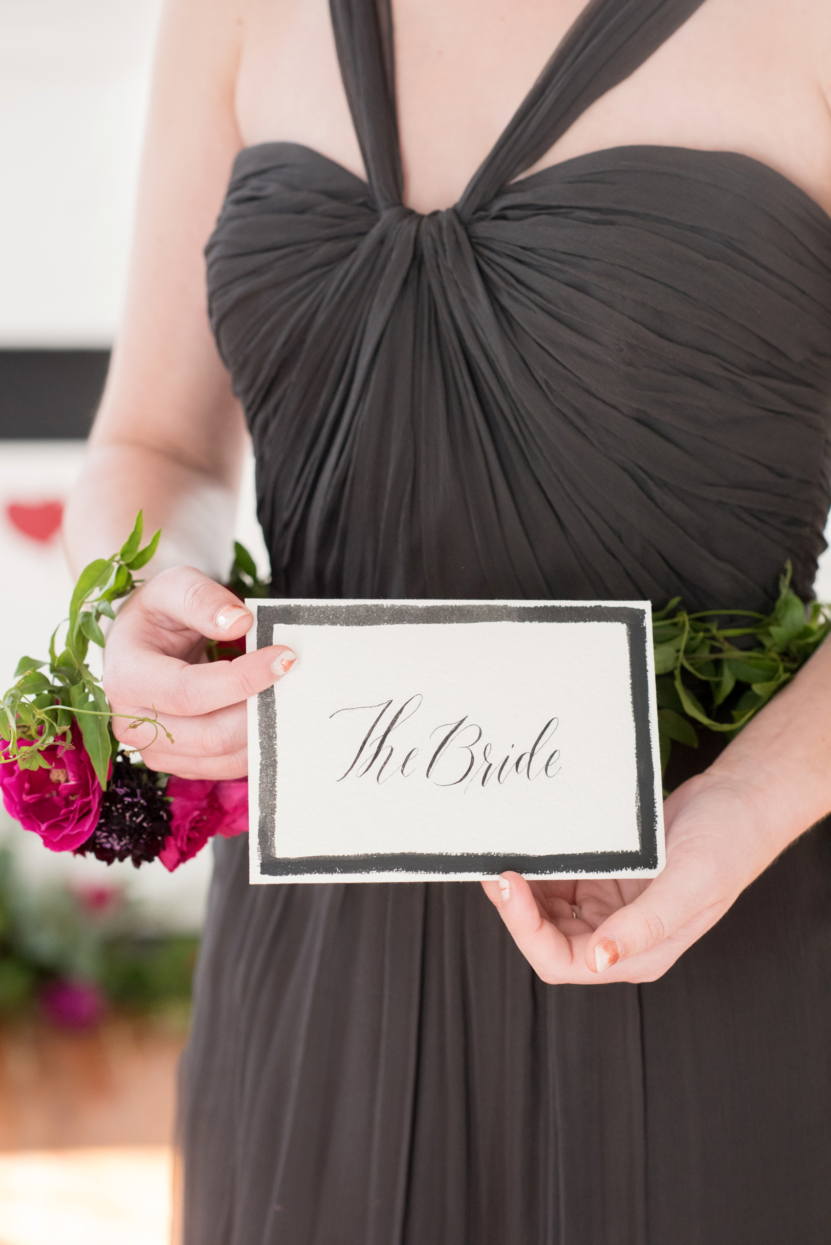 Mim's House NC proposal photos by Mikkel Paige Photography. Calligraphy love letter for the bride.
