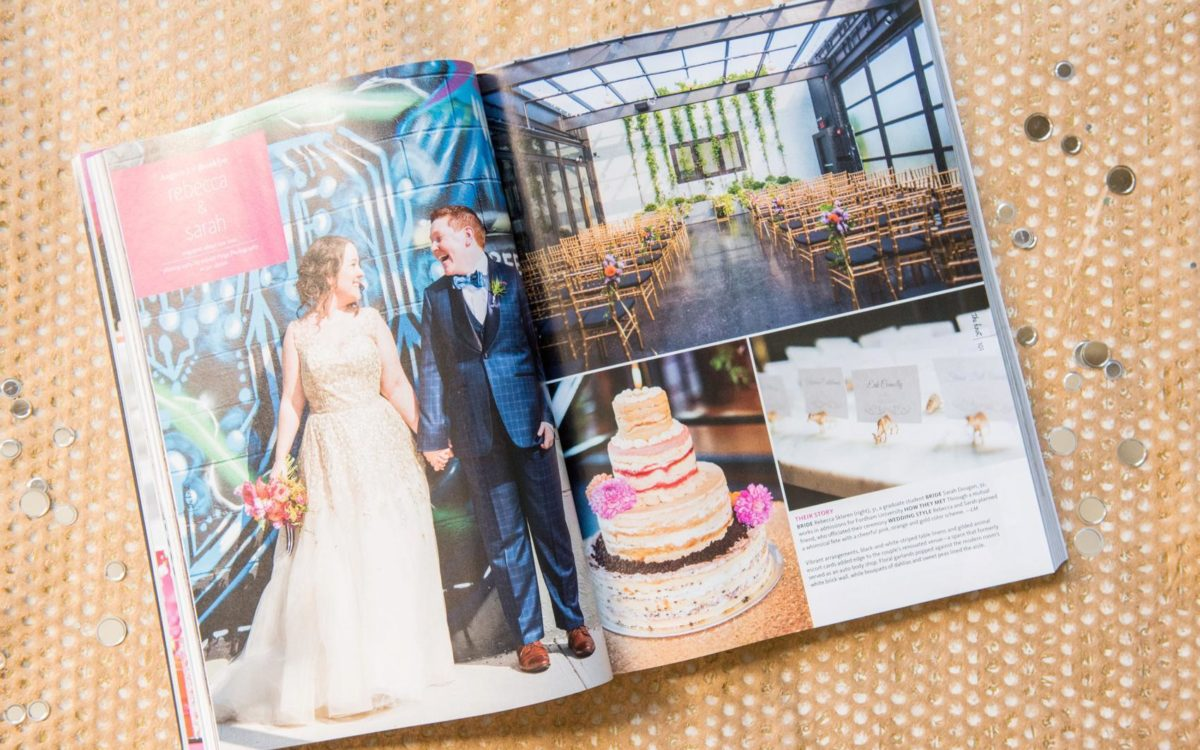 Featured: The Knot New York • 501 Union: Sarah + Rebecca