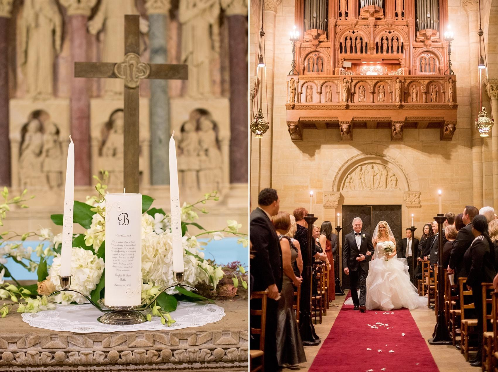 Wedding Ceremony At Riverside Church In New York City Image By Mikkel Paige Photography