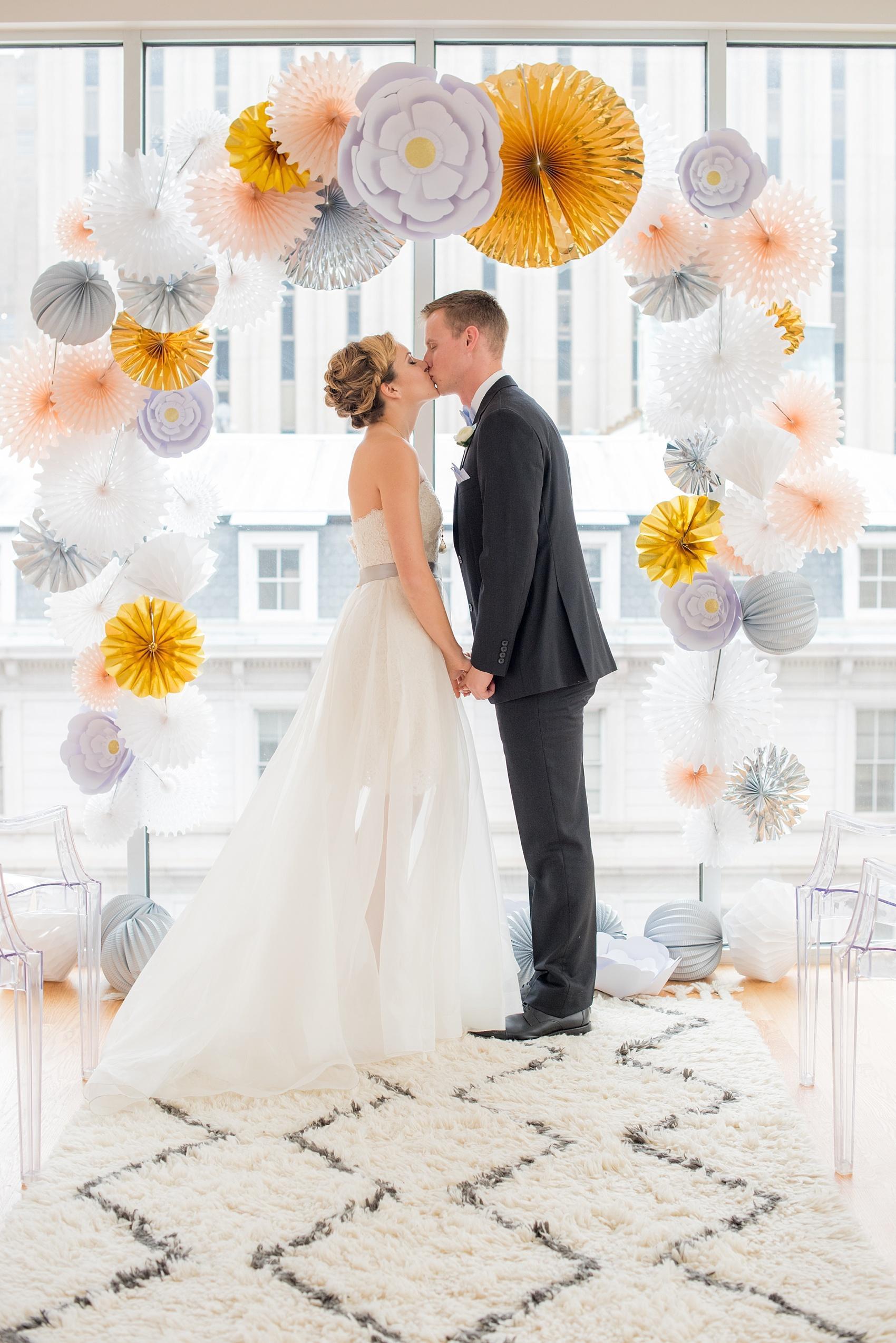 The Glass Box Wedding Photos • Serenity and Rose Quartz | Raleigh ...