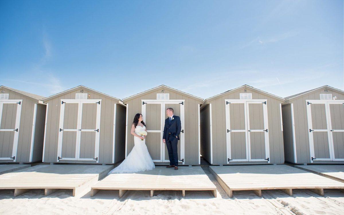 Windows on the Water Beach Wedding Photos • Christine + Joe