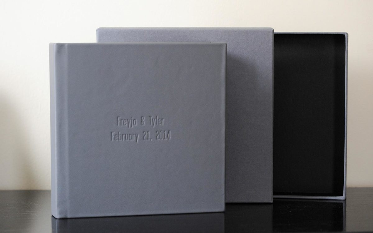 Signature Album Wedding Album Photos • Freyja + Tyler