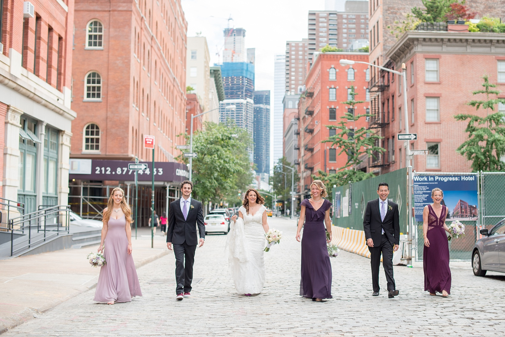 mikkel paige photography photos of a nyc wedding at tribeca rooftop an urban image of