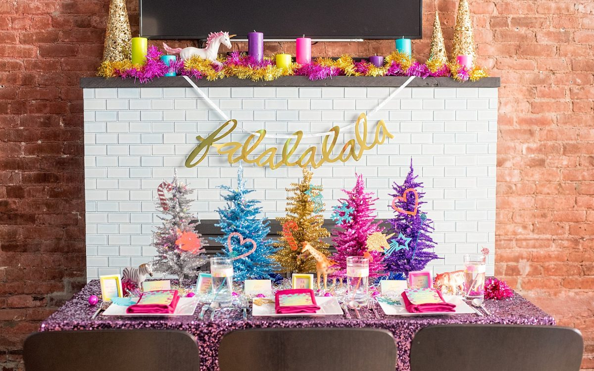 Colorful Holiday Party Ideas • Lisa Frank