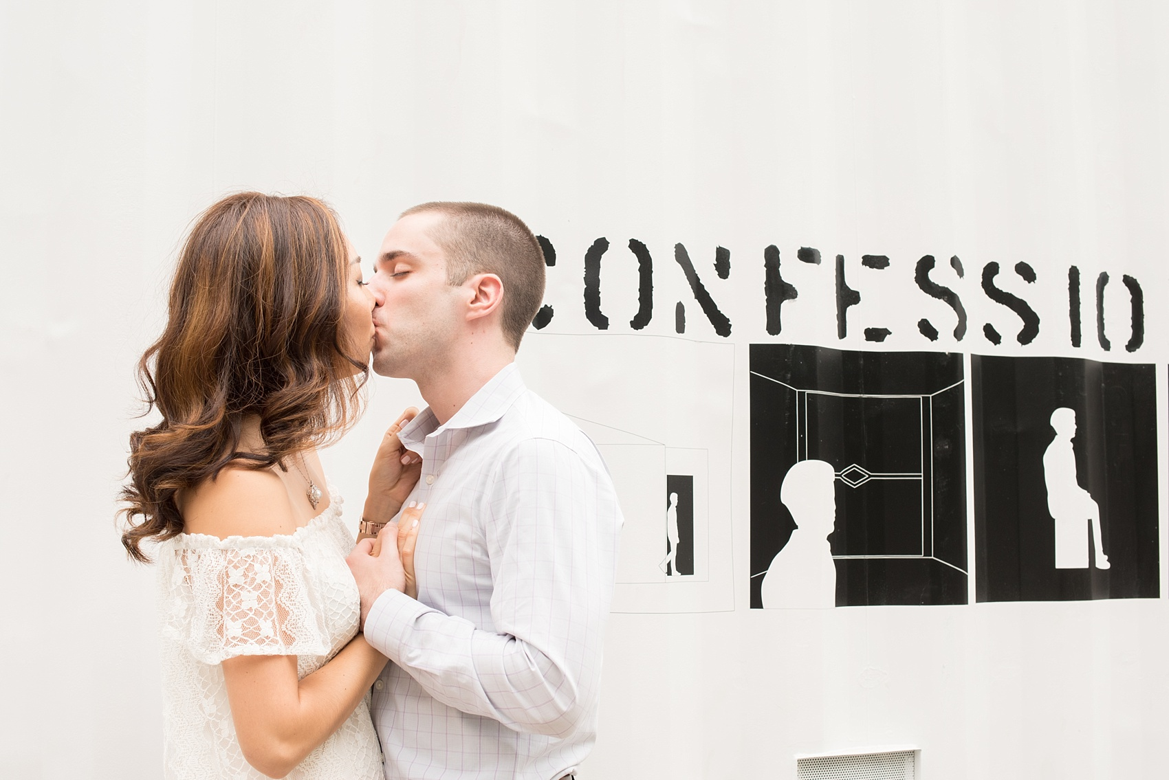 Mikkel Paige Photography photos of a Madison Square Park engagement session in NYC.