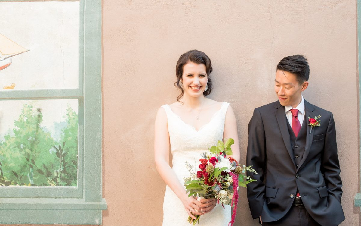 214 Martin Steet Wedding Photos • Downtown Raleigh • Sneak Peek: Adele + Quinn