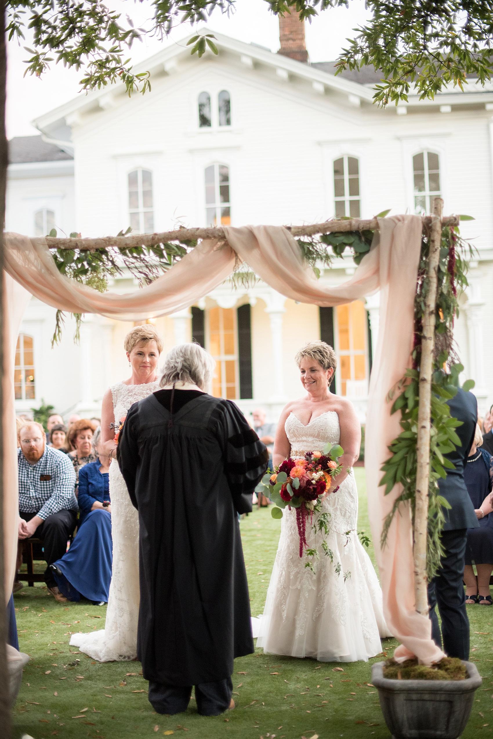 Merrimon Wynne House Raleigh Wedding Photos Linda