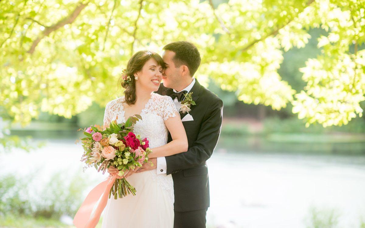 Prospect Park Brooklyn Boathouse Wedding Photos • Rachel + Joe