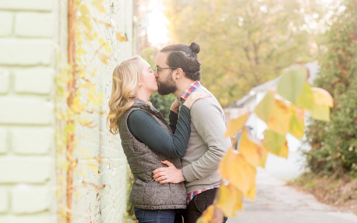 Downtown Durham Engagement Photos • Chloe + Xander
