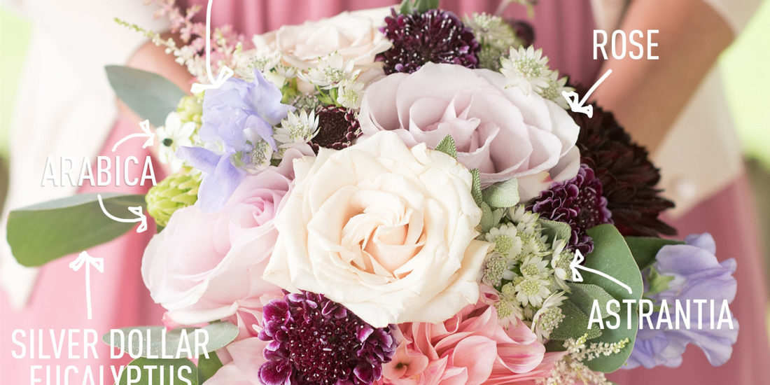 Bouquet breakdown pink and purple fall flowers raleigh and nyc pink and purple are hard to make classy but with a touch of contrasting colors like deep purple scabiosas and burgundy dahlias floral fantasies by sara mightylinksfo