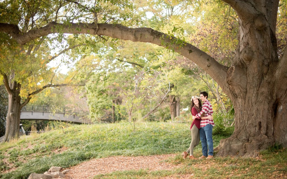 Pullen Park Raleigh Engagement Photos • Annie + Vince