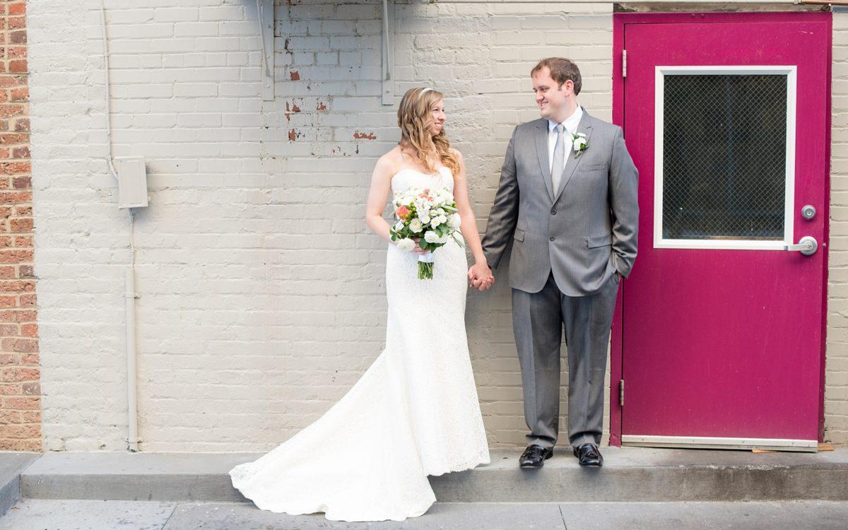 The Stockroom at 230 and The Glass Box Wedding Photos • Sneak Peek: Merrie + Ben