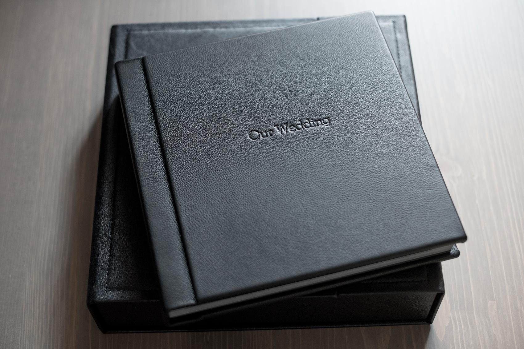 Mikkel Paige Photography Black Leather Wedding Album Of Tribeca Photos
