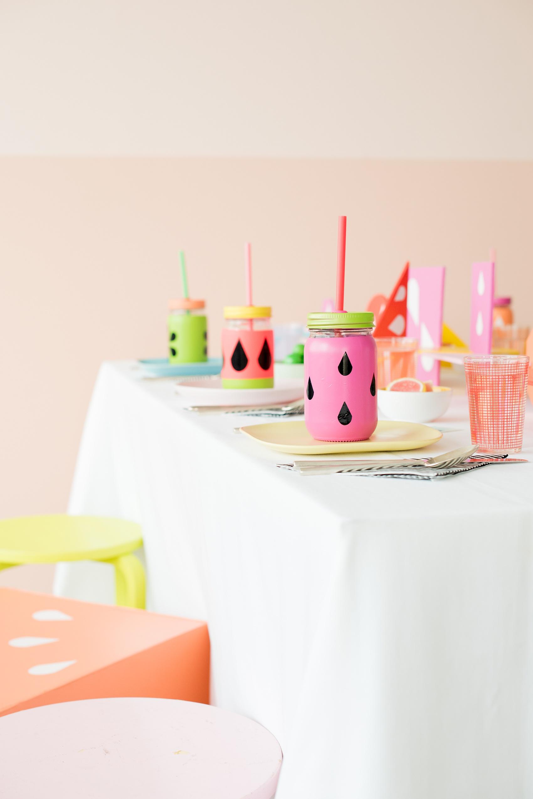 Colorful Tutti Frutti Party on Martha Stewart