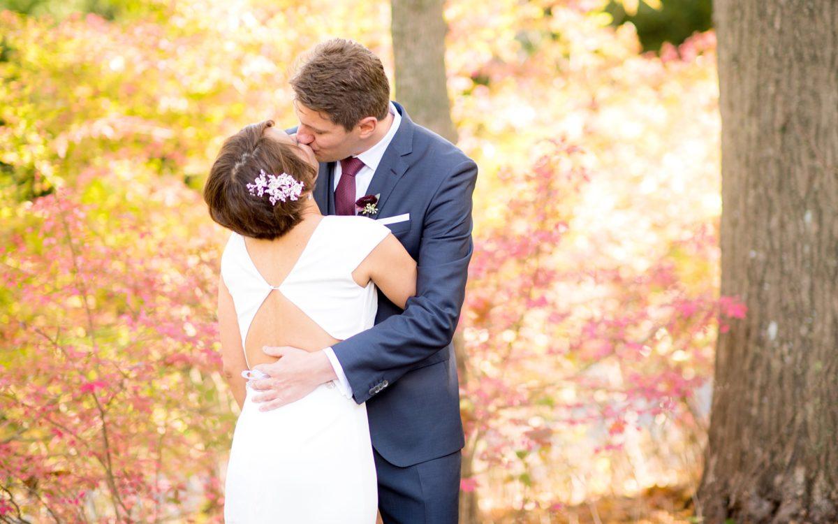 Crabtree's Kittle House Autumn Wedding Photos • Sneak Peek: Joy + Rainer