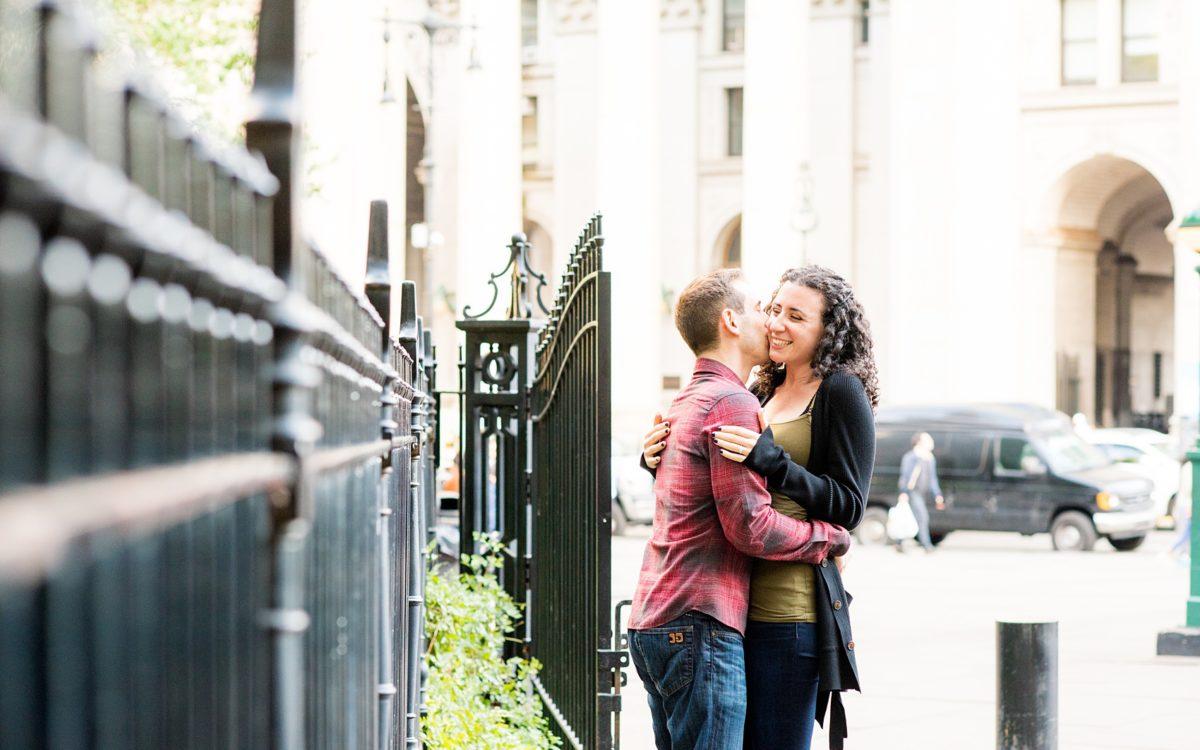 Lower Manhattan Engagement Photos • Becca + Kevin