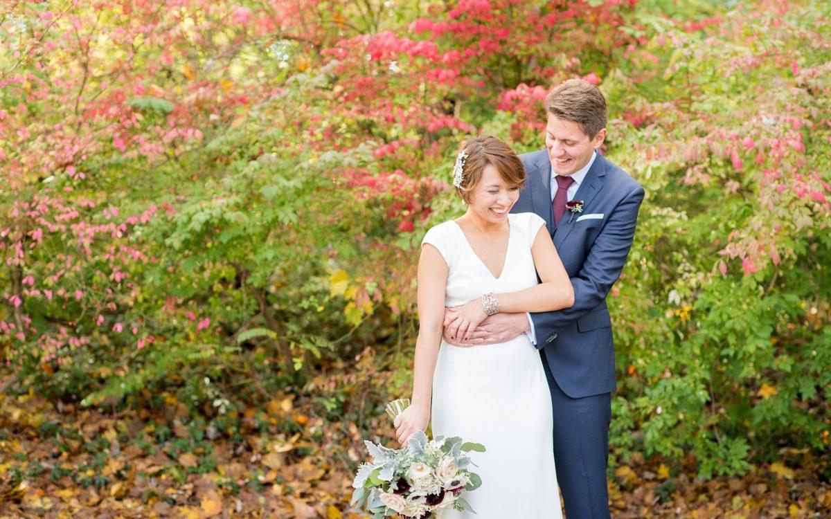 Crabtree's Kittle House Autumn Wedding Photos • Joy + Rainer