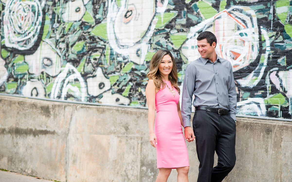 Colorful Downtown Raleigh Photos • Anniversary Session • Part 1: Jeanne + Jonathan