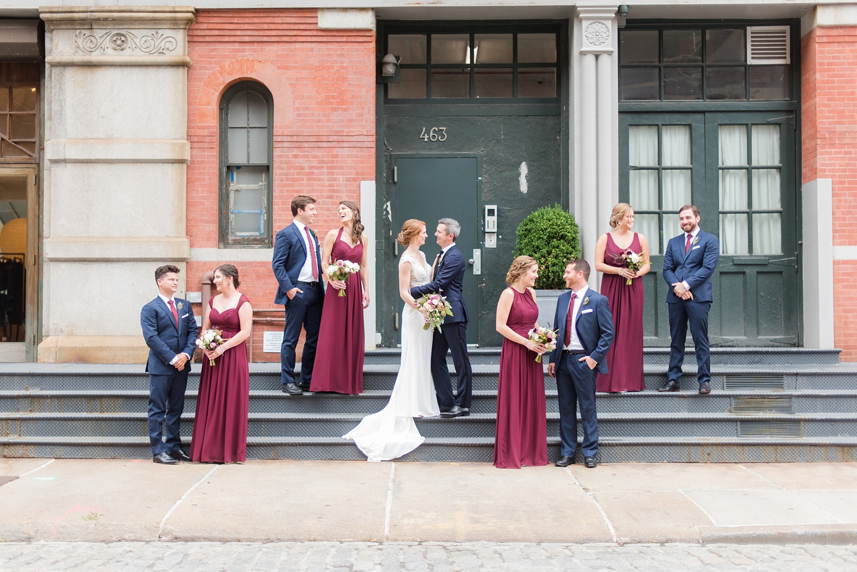 Beautiful Outdoor Wedding Ceremony At Tribeca Rooftop: Tribeca Rooftop Wedding Photos By Mikkel Paige Photography
