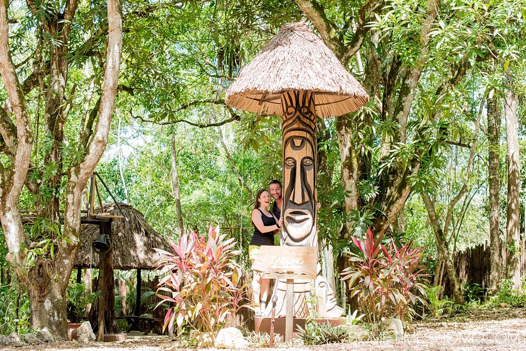Mikkel and Dan Woodruff in Belize.