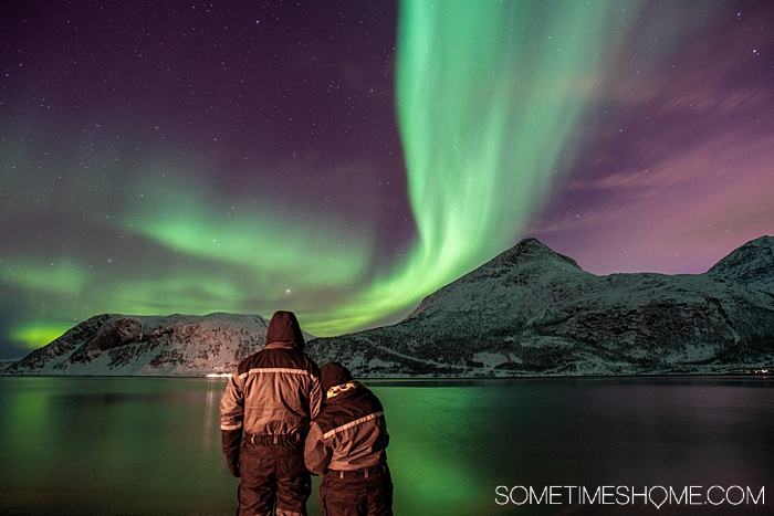 Sometimes Home travel blog trip to Tromso, Norway to see the Northern Lights. #SometimesHome