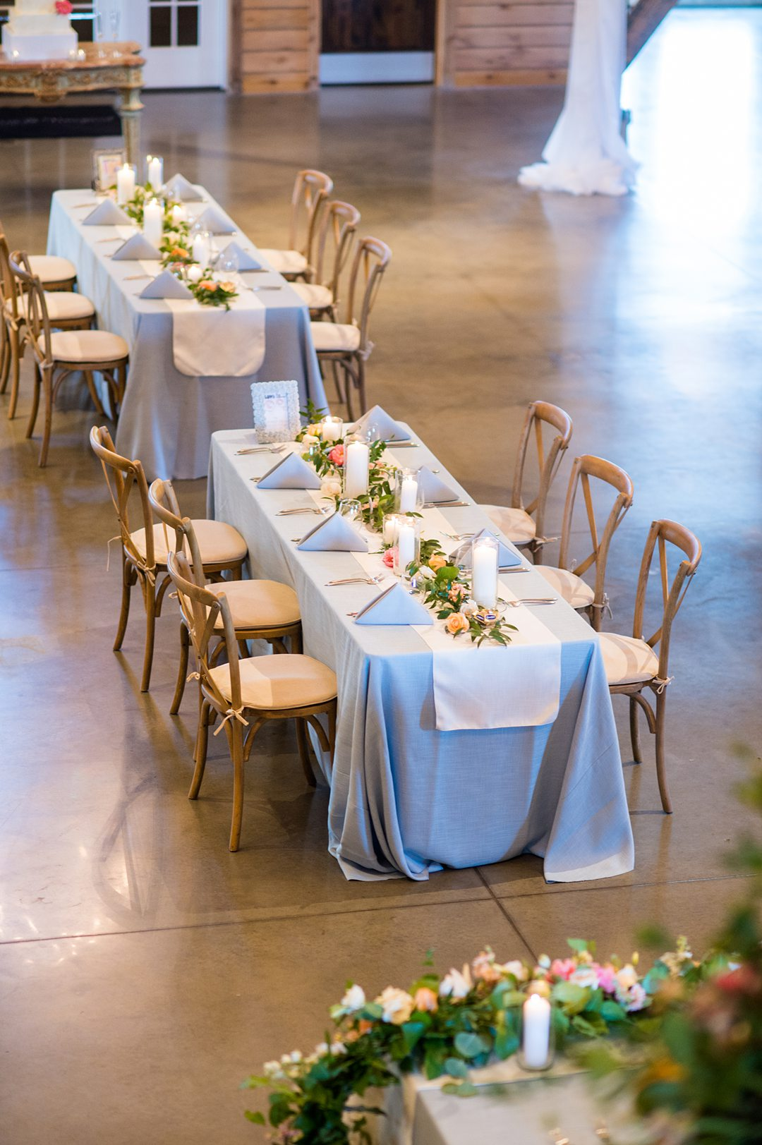 A socially distanced small wedding reception in Charlottesville, VA at the Lodge at Mount Ida farm. Photos by Mikkel Paige Photography. #mikkelpaige #covidwedding #charlottesvilleva