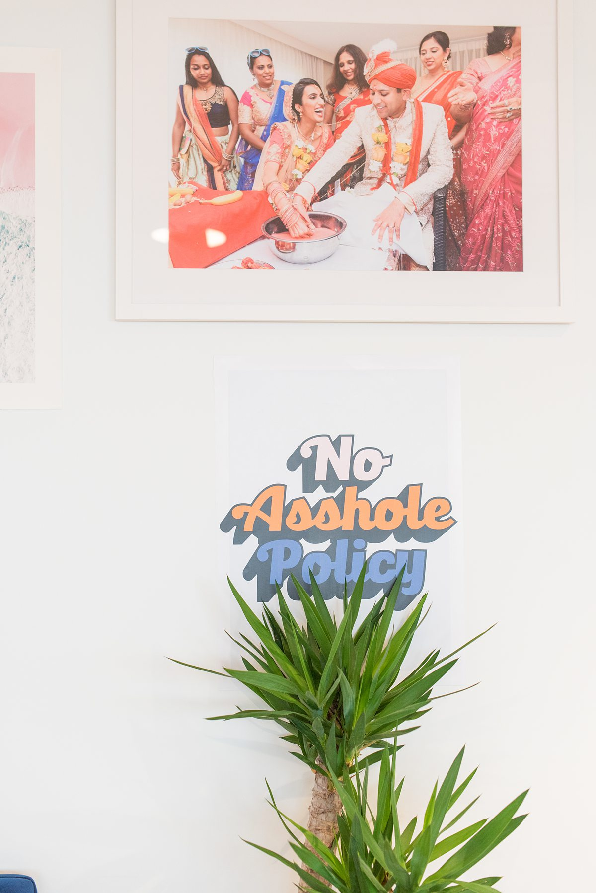 Zola Headquarters in NYC is full of great design and catchy posters. We take a look behind the scenes of the wedding website and app HQ in NYC, with Mikkel Paige Photography.